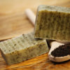 Natural exfoliating soap